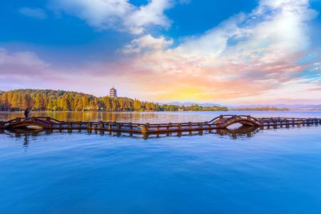 landscape in West Lake, Hangzhou