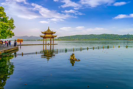 landscape in West Lake, Hangzhou, China