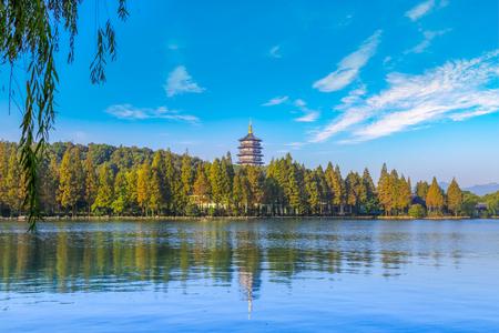 landscape in West Lake, Hangzhou, China