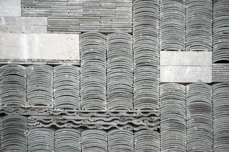 Grey Brick Tiles