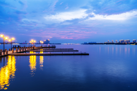 Yixing Shiqiao Lake view