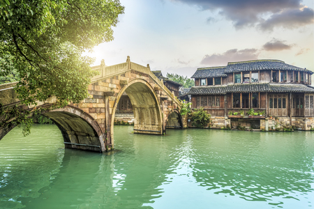 Wuzhen scenery Standard-Bild