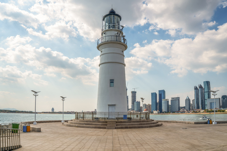 Qingdao White Lovers Lighthouse