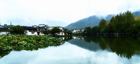 Hongcun Ancient Town 免版税图像