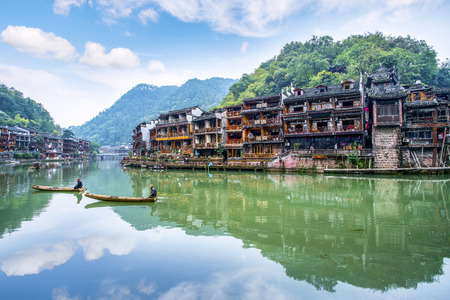 Hunan Xiangxi Fenghuang Ancient City 免版税图像 - 111393058