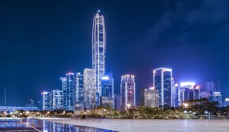Shenzhen city night scene