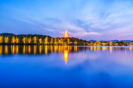 Hangzhou West Lake landscape Imagens