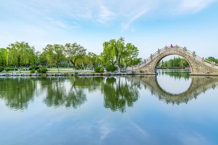 classical garden 免版税图像