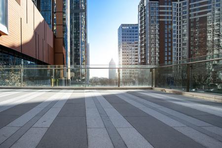 Paysage d'architecture de ville moderne de Qingdao