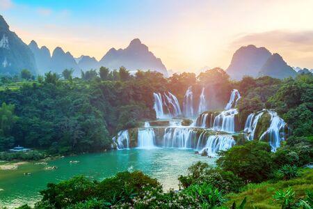 China's Guangxi Detian Waterfall