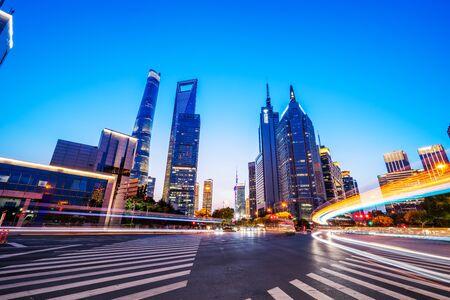 Shanghai Modern Architecture scenery Фото со стока - 128366553