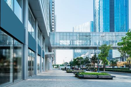 Suzhou modern city architecture office building