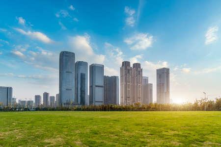 Urban modern architectural landscape