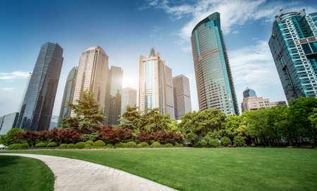 Shanghai Lujiazui Modern Architecture