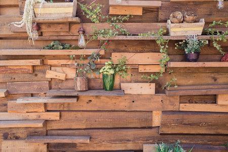 texture wooden garden things Standard-Bild
