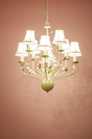 vintage chandelier: Vintage Chandelier old design, Ceiling lamp, light