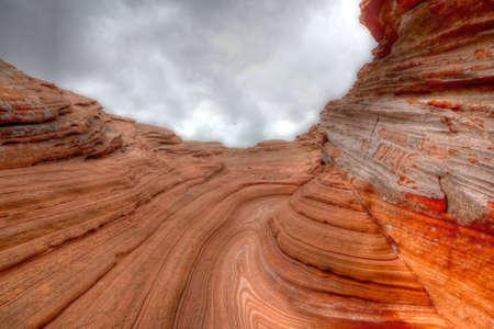 glen: Glen Canyon sandstone Stock Photo