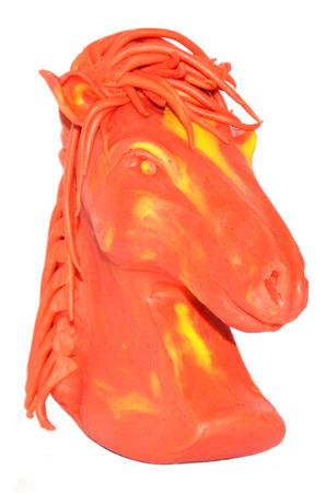 archetype: molding horse plasticine model