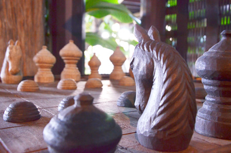 emulate: fighting chess wood thailand