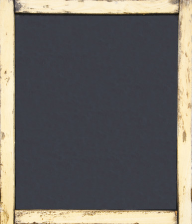 old wood blackboard