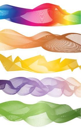 stoop: curve rainbow graphic pattern