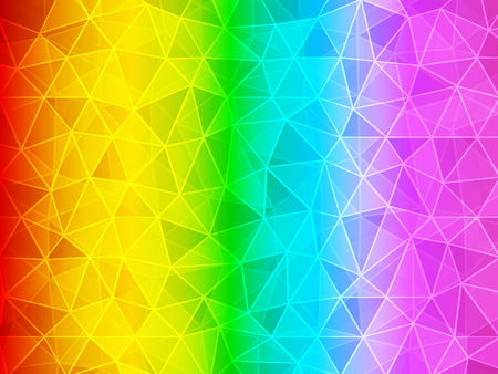rainbow: polygon gradient rainbow background
