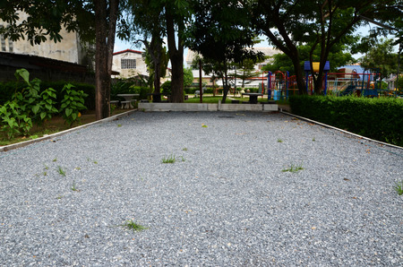 bocce: Sports facilities outdoor bocce daytime Thailand.