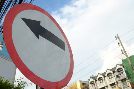 the traffic movement police: TRAFFIC said the black arrow with icon.
