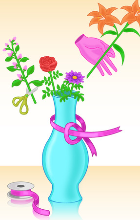 dispensation: flower arrangement hobby