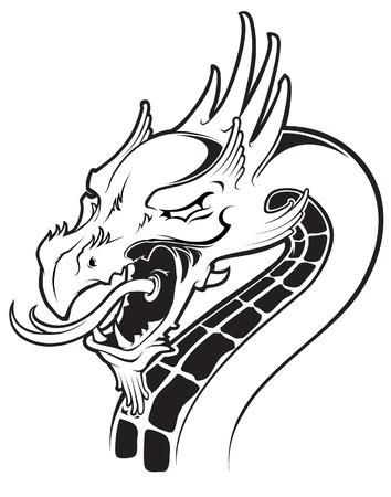 cabeza de dragon: Dragon cabeza
