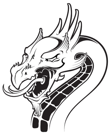 dragon head: dragon head