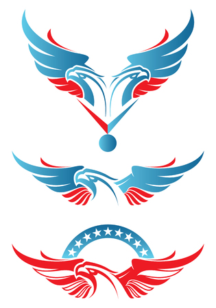 독수리 스포츠 로고