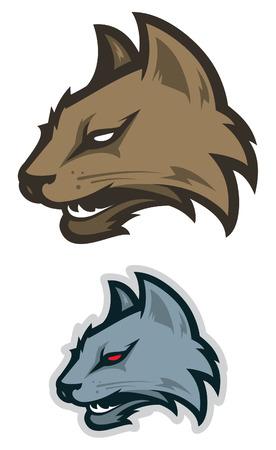 wildcat: Wildcat sport logotype
