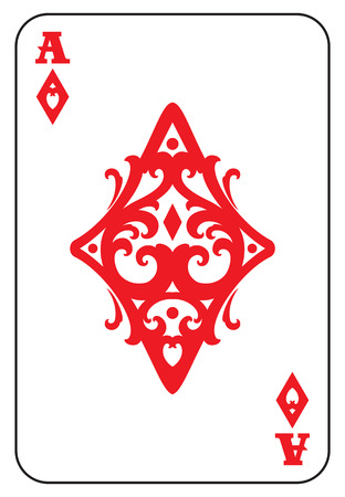 Ace of Diamonds Ilustrace
