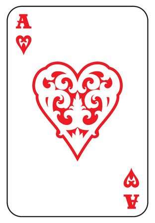 ace: Ace of Hearts Illustration