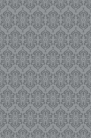 retro wallpaper: Retro wallpaper pattern (seamless) Illustration