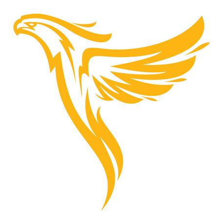 Phoenix sport mascot  イラスト・ベクター素材
