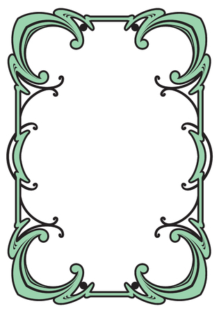 Border frame Illustration
