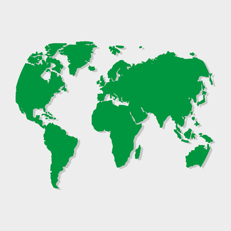 papery: Green earth on a gray background
