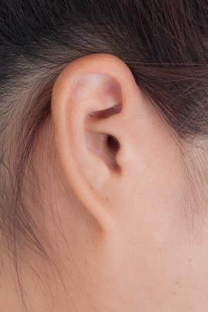 soft skin: Beauty ear woman with soft skin. Stock Photo