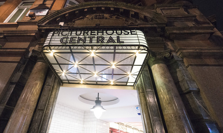 shaftesbury avenue: Picturehouse Central at Shaftesbury Avenue LONDON, ENGLAND - FEBRUARY 22, 2016