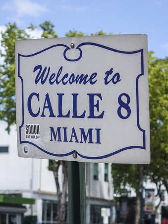 sawgrass: Welcome to Calle 8 in Little Havana Miami