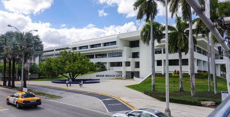 sawgrass: Miami Beach City Hall building