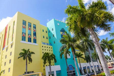sawgrass: Color Art Deco district in Miami Beach