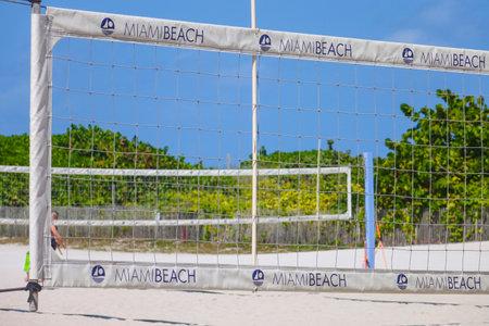 sawgrass: Beach volleyball at South Beach