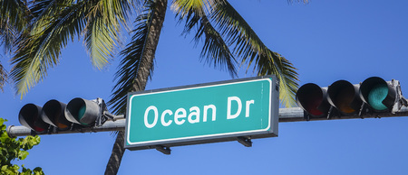 Ocean Drive Miami Beach Florida