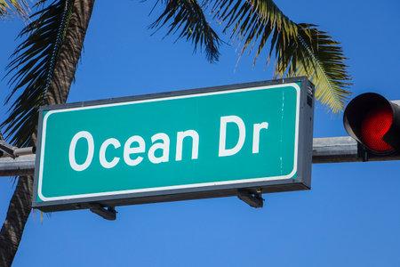 sawgrass: Ocean Drive Miami Beach Florida