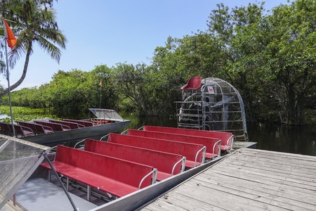 everglades: Airboat in the Everglades Florida