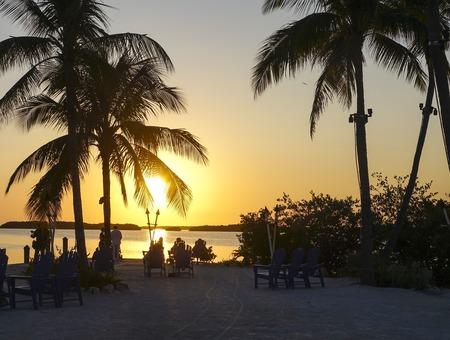 sawgrass: Wonderful sunset in the Florida Keys