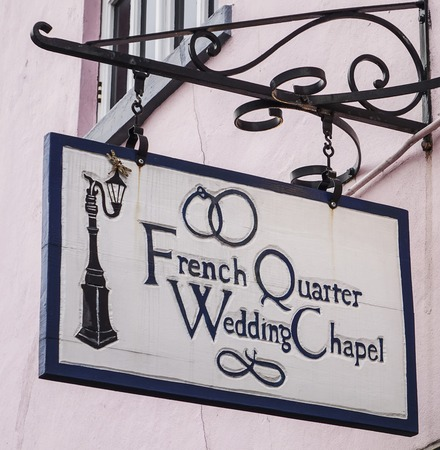 quarter: French Quarter Wedding chapel in New Orleans